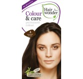 Hairwonder Colour & Care ilgalaikiai plaukų dažai be amoniako (Medium brown)