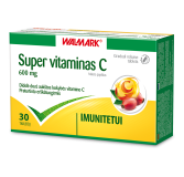 Super Vitaminas C 600 mg N30 (Walmark)