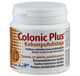 Colonic Plus Body Cleanser tabs. N180 (Hankintatukku)