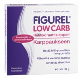 Figurel Low Carb tabs. N60 (Hankintatukku)
